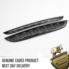 CADES Mini Cooper-S 01-06 R53 BLACK Front Grille Kit 2 piece