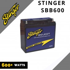 Stinger SSB600 Select 600W High Performance Car Audio Battery