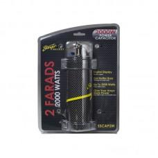 Stinger SSCAP2M Car Audio 2 Farad Digital Capacitor