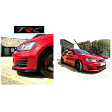 GENUINE Triple R Style2 Front splitter to fit VW Golf Mk7 GTi and GTD