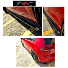 GENUINE Triple R Sideskirt splitters to fit VW Golf Mk7 GTi and GTD