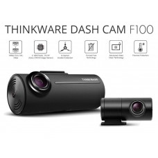 Thinkware F100 Front & Rear Dash Cam With Impact G Sensor 1080p