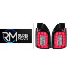 VW Caravelle Transporter T6 LED Upgrade Rear Pair Lights/Lamps 07/15 New In