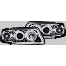 Audi A3 95-00 chrome angel eye headlights