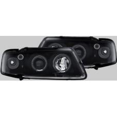 Audi A3 95-00 black angel eye headlights