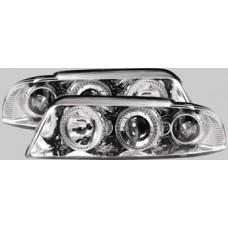 Audi A4 B5 95-00 chrome angel eye headlights