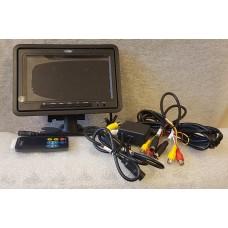 """Veba AV7024HR 7"""" TFT Headrest & Mountable Commercial Reversing Camera Screen"""