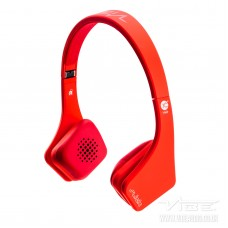 Fli On Ear Headphones RED MP3 iPod iPhone Android Extreme Bass