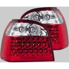 VW Golf MK3 red LED lexus style rear tailights