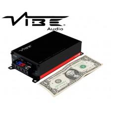 Vibe PowerBox Amp 400.1M V7 Class D Mono Micro Amplifier 400 Watts RMS @ 1Ohm