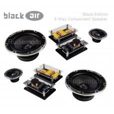 "Vibe Black Air 6.5"" 3-Way Concentric Component Car Audio Speakers 780w Peak"
