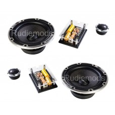 "Vibe Black Air 6.5"" 2-Way Component Car Audio Speakers 720w Peak"