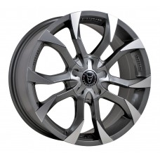 "Wolfrace Assassin GT GunMetal / Polished 18""x8.5 - Volkswagen T5 Fitment - Wheel & Tyre Package"