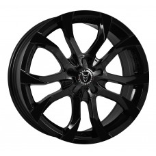 "Wolfrace Assassin Black 18""x8.0 - Volkswagen T5 Fitment - Wheel & Tyre"