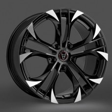 "Wolfrace Assassin GT Black / Polished 18""x8.5 - Volkswagen T5 Fitment - Wheel & Tyre Package"