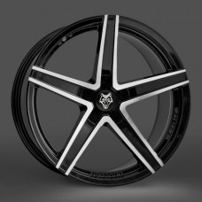 "Wolfrace Entourage Black / Polished 20""x8.5 - Volkswagen T5 Fitment - Wheel & Tyre"