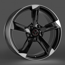 Wolfrace Genesis Black/Polished 20x8.5 - Volkswagen T5 Fitment - Wheel & Tyre Package