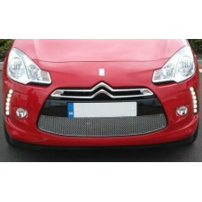Zunsport Citroen DS3 2008-2010 Front BLACK Lower Grille Without Chrome