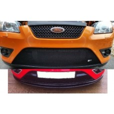 Ford Focus ST225 Pre Facelift Full Lower Zunsport Grille and TRC Front Splitter