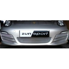 Zunsport Boxster 981 2012 On Front Rear Stainless Grille Without Parking Sensors