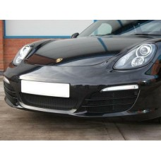 Zunsport Boxster 981 2012 On Complete Set BLACK Grille With Parking Sensors