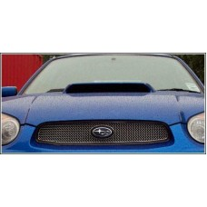 Zunsport Fits Subaru Impreza Blob Eye Stainless Steel Polished Front Top Grille