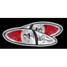 Alfa Romeo 147 chrome lexus style rear lights