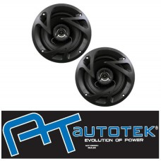 "AUTOTEK ATX4CX 4"" Car 2 Way Coaxial Speakers 250w 1 Pair"
