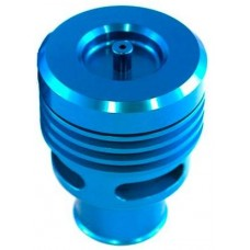 Collins Twin Piston Blue Anodised Alloy Dump Valve 25mm