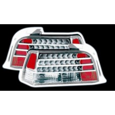 BMW 3 series E36 2 door chrome LED lexus style tailights