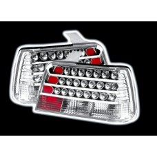 BMW 3 series E36 4 door chrome LED lexus style tailights