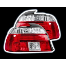 BMW 5 series E39 95-00 red and clear M5 style tailights