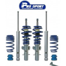 Prosport Audi A3 Mk2 8P 03 on 1.6 FWD Coilover Lowering Suspension Kit