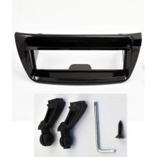 Fiat Doblo Van 2012 on Single Din Car Stereo Facia Shiny Black
