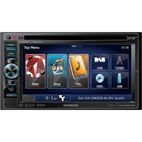 Kenwood DNX-4250DAB Double Din Nav CD DVD USB DAB Bluetooth