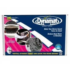 "DYNAMAT Xtreme Bulk Sound Deadening Pack new BLACK 36sq ft 9 Sheets 18""x32"""