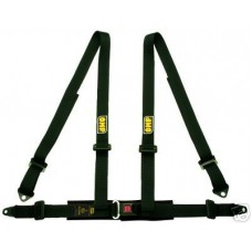 OMP 4-Point Harnesses Road 3 black