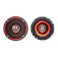 "Edge Street ED206 6.5"" 4 Way 180 Watt Coaxial Speakers"