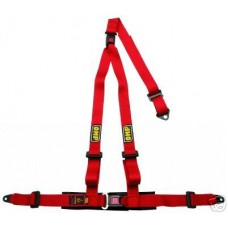 OMP 3-Point Harnesses Road 3 Red