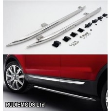 Range Rover Evoque Side Bars Stainless Steel OEM style 1 PAIR