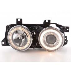 BMW 5 series E34 Chrome Angel Eye Headlights