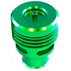 Collins Twin Piston Green Anodised Alloy Dump Valve 25mm