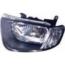 MITSUBISHI L200 SINGLE CAB 06> ELEC REPLACEMENT HEADLIGHT (CLEAR