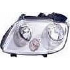 VW CADDY 04> TOURAN 5/04-06 REPLACEMENT HEADLIGHT (3 POD) PASSEN