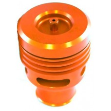 Collins Twin Piston Orange Anodised Alloy Dump Valve 25mm