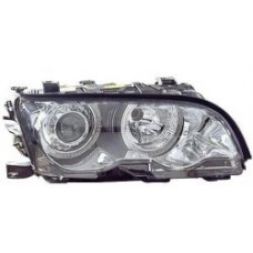 BMW 3 series E46 2dr coupe 98-03 chrome angel eye headlights