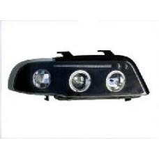 Audi A4 B5 95-00 black angel eye headlights
