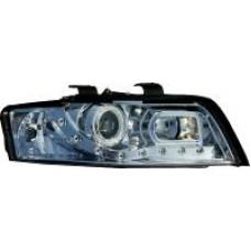 Audi A4 B6 01-04 chrome R8 Devil eye headlights