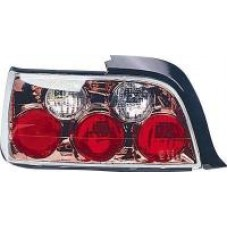 BMW 3 series E36 2 door black chrome lexus style tailights