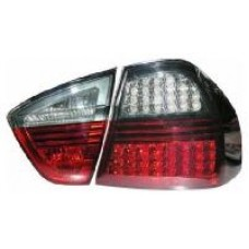 BMW 3 series E90 4 dr saloon smoked LED rear tailights